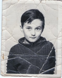 Peter Bently aged 9, Lichfield, Staffordshire, 1970